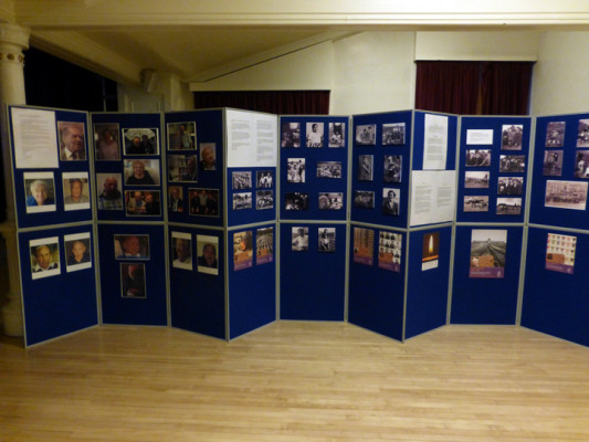 Display Boards in the Assembly Rooms, Town Hall