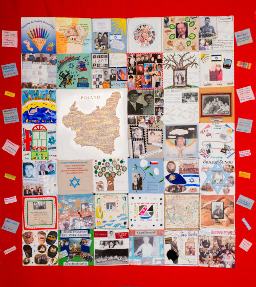 One of four memory quilts - © 45 Aid Society/Julia Burton