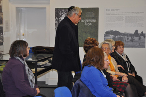 Some of the guests at the commemoration for HMD at LDHP, Windermere